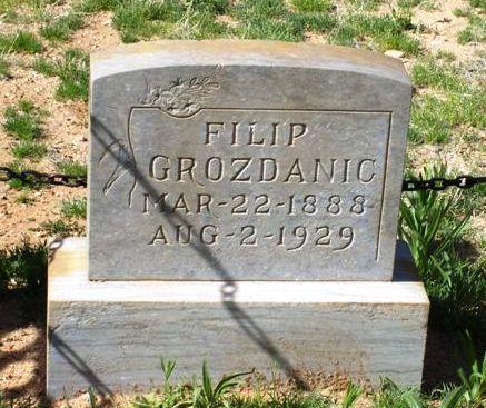 GROZDANIC, FILIP (PHILIP) - Maricopa County, Arizona | FILIP (PHILIP) GROZDANIC - Arizona Gravestone Photos