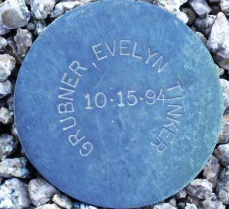 GRUBNER, EVELYN TINKER - Maricopa County, Arizona | EVELYN TINKER GRUBNER - Arizona Gravestone Photos