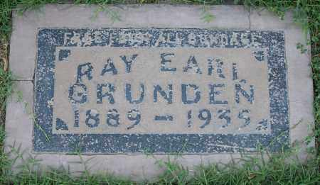 GRUNDEN, RAY EARL - Maricopa County, Arizona | RAY EARL GRUNDEN - Arizona Gravestone Photos