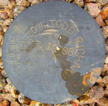 GUELZOW, TODD RICHARD - Maricopa County, Arizona   TODD RICHARD GUELZOW - Arizona Gravestone Photos