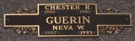 GUERIN, CHESTER R - Maricopa County, Arizona   CHESTER R GUERIN - Arizona Gravestone Photos