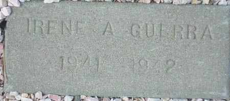 GUERRA, IRENE A. - Maricopa County, Arizona | IRENE A. GUERRA - Arizona Gravestone Photos