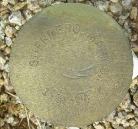 GUERRERO, MARY S. - Maricopa County, Arizona   MARY S. GUERRERO - Arizona Gravestone Photos