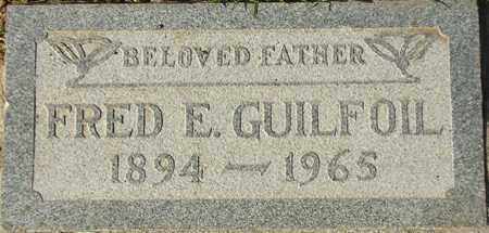 GUILFOIL, FRED E. - Maricopa County, Arizona   FRED E. GUILFOIL - Arizona Gravestone Photos