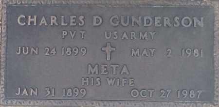 GUNDERSON, META - Maricopa County, Arizona | META GUNDERSON - Arizona Gravestone Photos