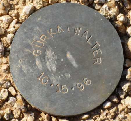 GURKA, WALTER - Maricopa County, Arizona   WALTER GURKA - Arizona Gravestone Photos