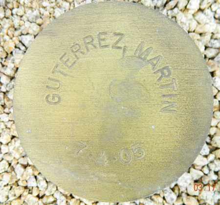 GUTERREZ, MARTIN - Maricopa County, Arizona | MARTIN GUTERREZ - Arizona Gravestone Photos