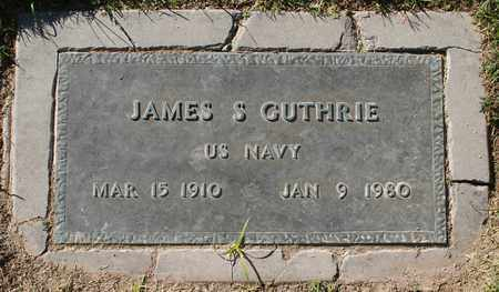 GUTHRIE, JAMES SAMUEL - Maricopa County, Arizona | JAMES SAMUEL GUTHRIE - Arizona Gravestone Photos