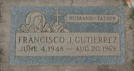 GUTIERREZ, FRANCISCO J. - Maricopa County, Arizona | FRANCISCO J. GUTIERREZ - Arizona Gravestone Photos