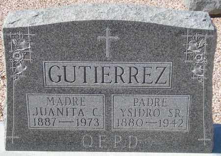 GUTIERREZ, YSIDRO - Maricopa County, Arizona   YSIDRO GUTIERREZ - Arizona Gravestone Photos