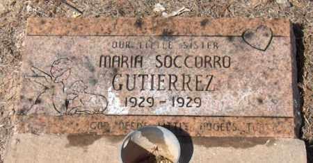 GUTIERREZ, MARIA SOCCORRO - Maricopa County, Arizona | MARIA SOCCORRO GUTIERREZ - Arizona Gravestone Photos