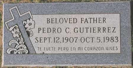 GUTIERREZ, PEDRO C. - Maricopa County, Arizona | PEDRO C. GUTIERREZ - Arizona Gravestone Photos