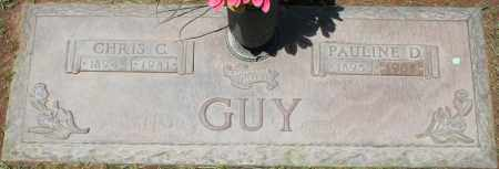 GUY, CHRIS C. - Maricopa County, Arizona   CHRIS C. GUY - Arizona Gravestone Photos