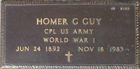 GUY, HOMER G. - Maricopa County, Arizona | HOMER G. GUY - Arizona Gravestone Photos