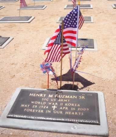 GUZMAN, HENRY M, SR - Maricopa County, Arizona | HENRY M, SR GUZMAN - Arizona Gravestone Photos