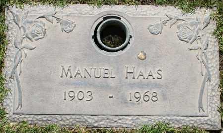HAAS, MANUEL - Maricopa County, Arizona | MANUEL HAAS - Arizona Gravestone Photos