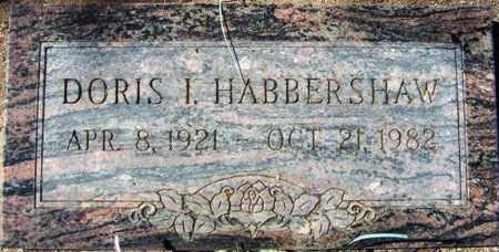 HABBERSHAW, DORIS I. - Maricopa County, Arizona | DORIS I. HABBERSHAW - Arizona Gravestone Photos
