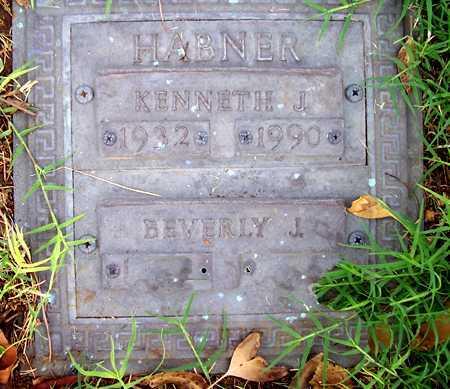 HABNER, KENNETH J. - Maricopa County, Arizona | KENNETH J. HABNER - Arizona Gravestone Photos