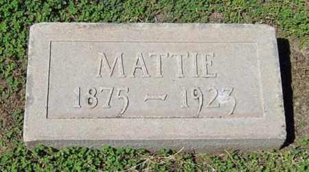 "NEWTON HACKETT, MARTHA ""MATTIE"" - Maricopa County, Arizona | MARTHA ""MATTIE"" NEWTON HACKETT - Arizona Gravestone Photos"