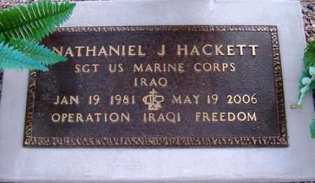 HACKETT, NATHANIEL - Maricopa County, Arizona | NATHANIEL HACKETT - Arizona Gravestone Photos