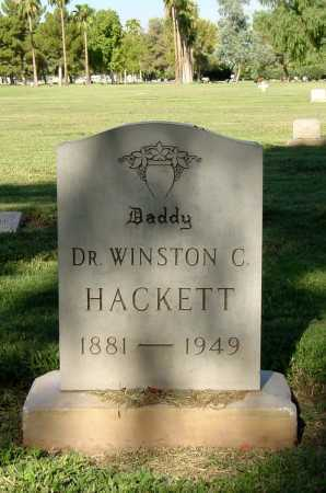HACKETT, WINSTON C. - Maricopa County, Arizona | WINSTON C. HACKETT - Arizona Gravestone Photos