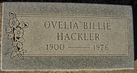 "HACKLER, OVELIA ""BILLIE"" - Maricopa County, Arizona | OVELIA ""BILLIE"" HACKLER - Arizona Gravestone Photos"