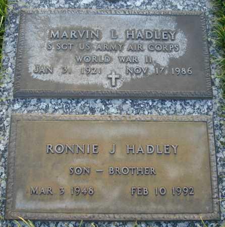 HADLEY, MARVIN L - Maricopa County, Arizona | MARVIN L HADLEY - Arizona Gravestone Photos