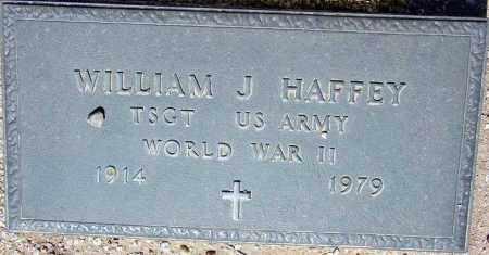 HAFFEY, WILLIAM J. - Maricopa County, Arizona | WILLIAM J. HAFFEY - Arizona Gravestone Photos