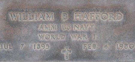 HAFFORD, WILLIAM B. - Maricopa County, Arizona | WILLIAM B. HAFFORD - Arizona Gravestone Photos