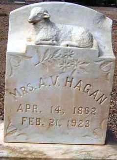 NELSON HAGAN, ARTIE VICTORIA - Maricopa County, Arizona   ARTIE VICTORIA NELSON HAGAN - Arizona Gravestone Photos
