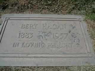 HAGAN, BERT - Maricopa County, Arizona | BERT HAGAN - Arizona Gravestone Photos