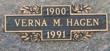 HAGEN, VERNA M - Maricopa County, Arizona | VERNA M HAGEN - Arizona Gravestone Photos