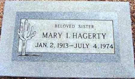 HAGERTY, MARY I. - Maricopa County, Arizona | MARY I. HAGERTY - Arizona Gravestone Photos