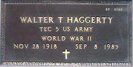 HAGGERTY, WALTER T. - Maricopa County, Arizona | WALTER T. HAGGERTY - Arizona Gravestone Photos