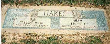 HAKES, LEONA EMMA - Maricopa County, Arizona | LEONA EMMA HAKES - Arizona Gravestone Photos