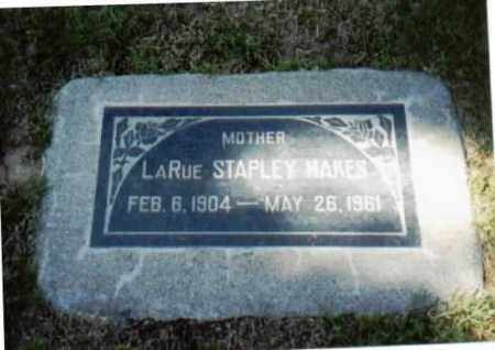 STAPLEY HAKES, ZELDA LARUE - Maricopa County, Arizona | ZELDA LARUE STAPLEY HAKES - Arizona Gravestone Photos
