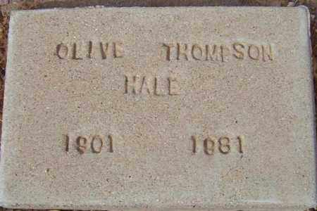 HALE, OLIVE - Maricopa County, Arizona | OLIVE HALE - Arizona Gravestone Photos