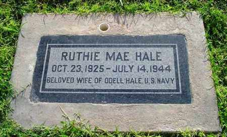 PHILLIPS HALE, RUTHIE MAE - Maricopa County, Arizona | RUTHIE MAE PHILLIPS HALE - Arizona Gravestone Photos