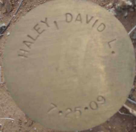 HALEY, DAVID L. - Maricopa County, Arizona | DAVID L. HALEY - Arizona Gravestone Photos
