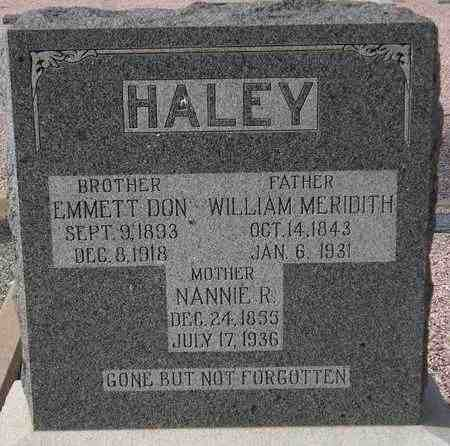 HALEY, WILLIAM MERIDITH - Maricopa County, Arizona | WILLIAM MERIDITH HALEY - Arizona Gravestone Photos