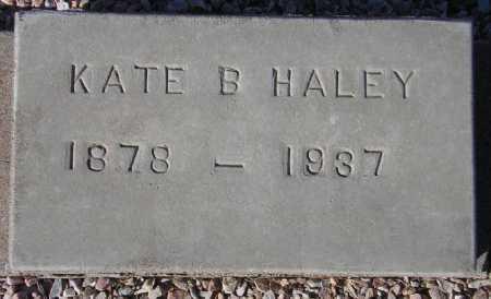 HALEY, KATE B. - Maricopa County, Arizona | KATE B. HALEY - Arizona Gravestone Photos