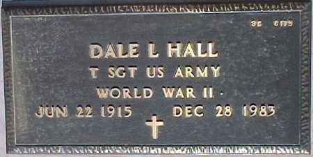 HALL, DALE L. - Maricopa County, Arizona   DALE L. HALL - Arizona Gravestone Photos