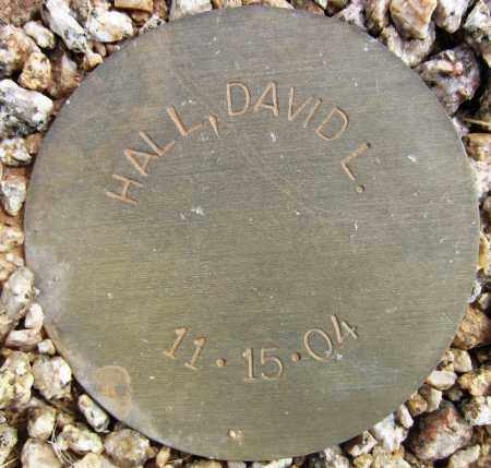 HALL, DAVID L. - Maricopa County, Arizona   DAVID L. HALL - Arizona Gravestone Photos