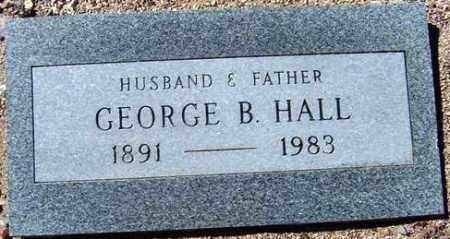 HALL, GEORGE BUCKLE - Maricopa County, Arizona   GEORGE BUCKLE HALL - Arizona Gravestone Photos