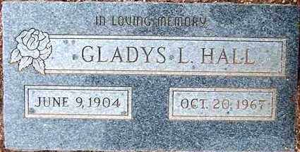 HALL, GLADYS L. - Maricopa County, Arizona | GLADYS L. HALL - Arizona Gravestone Photos