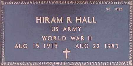 HALL, HIRAM R. - Maricopa County, Arizona | HIRAM R. HALL - Arizona Gravestone Photos