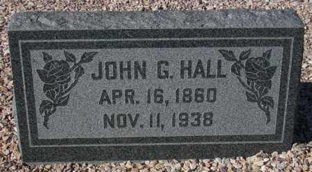 HALL, JOHN G. - Maricopa County, Arizona | JOHN G. HALL - Arizona Gravestone Photos