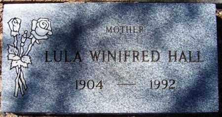 HALL, LULU WINIFRED - Maricopa County, Arizona | LULU WINIFRED HALL - Arizona Gravestone Photos