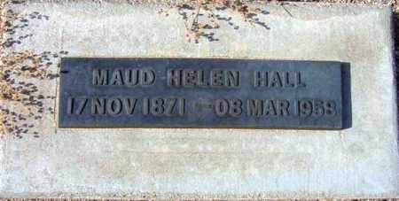 HALL, MAUD ELLEN - Maricopa County, Arizona | MAUD ELLEN HALL - Arizona Gravestone Photos