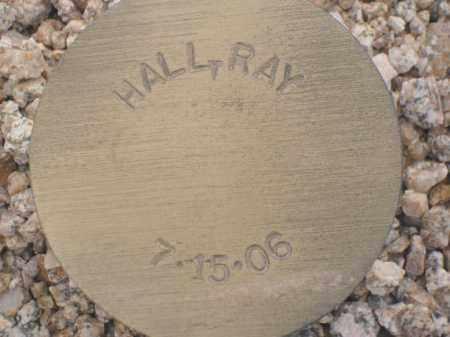 HALL, RAY - Maricopa County, Arizona | RAY HALL - Arizona Gravestone Photos
